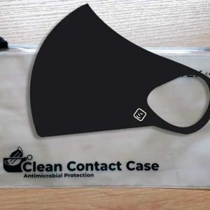 Clean Contact Case and Mask
