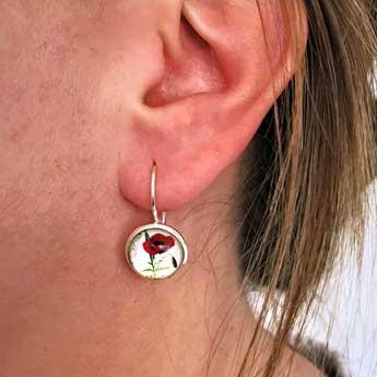 Poppy earrings rsa