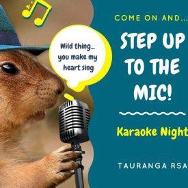 Karaoke Tauranga RSA